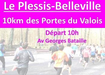 Photo of 10 km des Portes du Valois 2020, Le Plessis-Belleville (Oise)