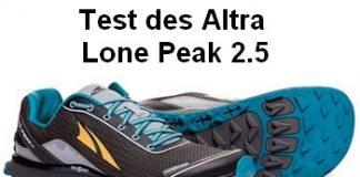 Test des Altra Lone Peak 2.5 par Jogging-Plus