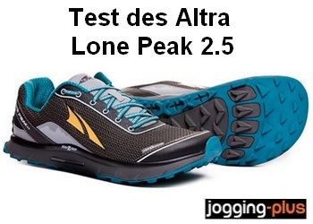 Photo de Test des Altra Lone Peak 2.5: le trail au naturel