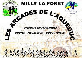 Photo of Arcades de l'aqueduc 2020, Milly-la-Forêt (Essonne)
