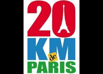 Photo of 3 dossards pour les 20 Km de Paris 2016