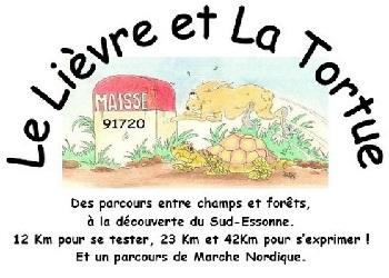 Photo of Le lièvre et la tortue, trail à Maisse (Essonne)