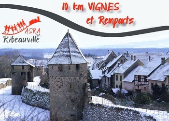Photo of 10 km Vignes et remparts 2020, Ribeauville (Haut Rhin)