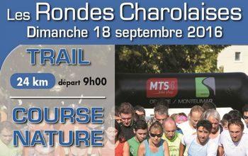 2 dossards pour les Rondes Charolaises 2016