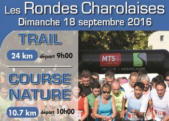 Photo of 2 dossards pour les Rondes Charolaises 2016 (Drôme)