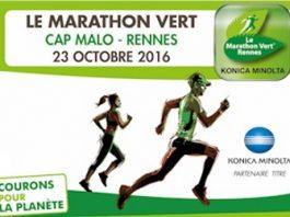2 dossards pour le Marathon vert Cap Malo Rennes 2016