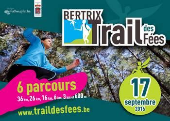 Photo of 4 dossards à gagner pour le Trail des fées 2016, Bertrix (Belgique)