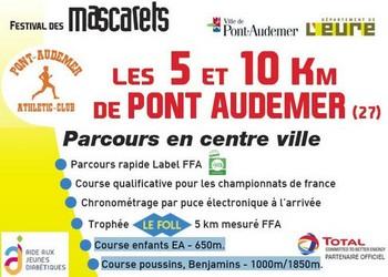 Photo of 5 et 10 km des Mascarets 2020, Pont-Audemer (Eure)
