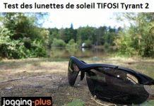 Test des lunettes de soleil de sport TIFOSI Tyrant 2