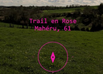 Photo of Trail en rose 2020, Mahéru (Orne)
