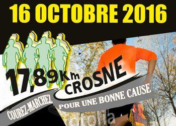 Photo of 3 dossards pour les 17,89 km de Crosne 2016 (Essonne)