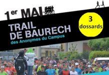 3 dossards pour le Trail de Baurech 2017 (Gironde)