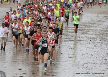 Photo of Course du Run, traversée de Tatihou, Saint-Vaast-la-Hougue (Manche)