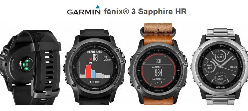 Test de la Garmin Fenix 3 par Jogging-Plus.com
