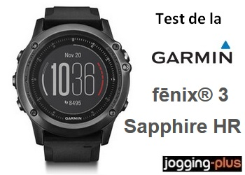 Photo of Test de la Garmin Fénix 3 Sapphire Gray HR : une montre GPS Cardio réussie!
