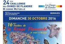 3 dossards pour la Rouge Flamande 2016