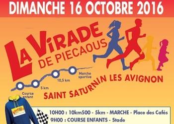 Photo of 5 dossards pour la Virade de Piecaous 2016 (Vaucluse)