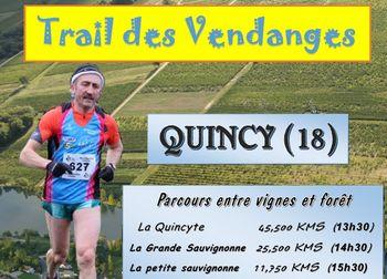 Photo of Trail des vendanges 2020, Quincy (Cher)