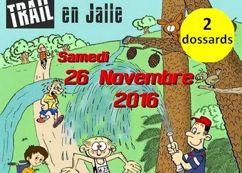 Photo of 2 dossards pour le Trail en Jalle 2016, Saint Jean d'Illac (Gironde)