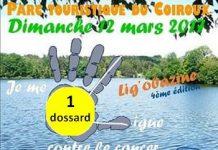 1 dossard pour la Ligobazine course nature contre le cancer 2017 (Corrèze)