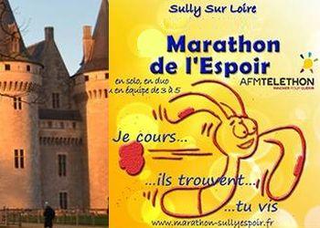Photo de Marathon de l'espoir 2020, Sully-sur-Loire (Loiret)