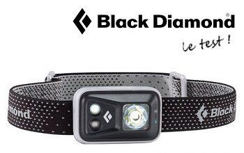 Test de la lampe frontale Black Diamond Spot par Jogging-Plus