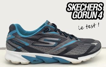 Test des Skechers GOrun 4: un modèle à découvrir