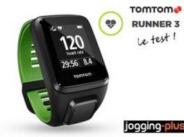 Test de la Tomtom Runner 3 par Jogging-Plus.com