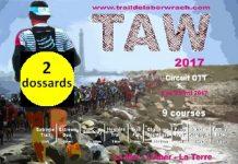 2 dossards pour le Trail de l 'Aber Wrac'h 2017 (Finistère)