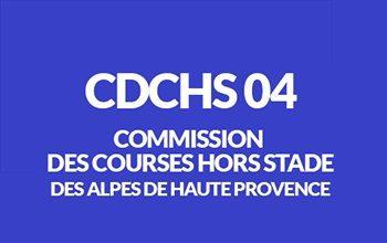 Calendrier des courses hors stade du département 04 Alpes de Haute Provence CDCHS04
