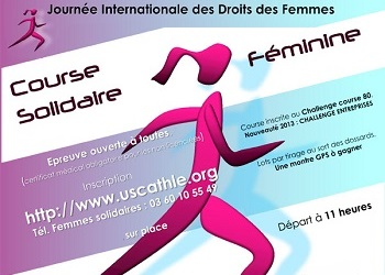 Photo of Course solidaire féminine 2020, Amiens (Somme)