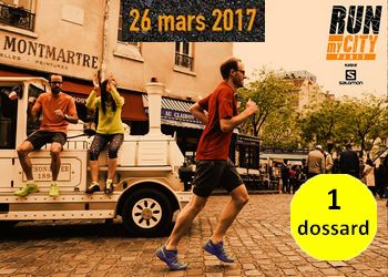 Photo of 1 dossard pour Run My City Paris 2017