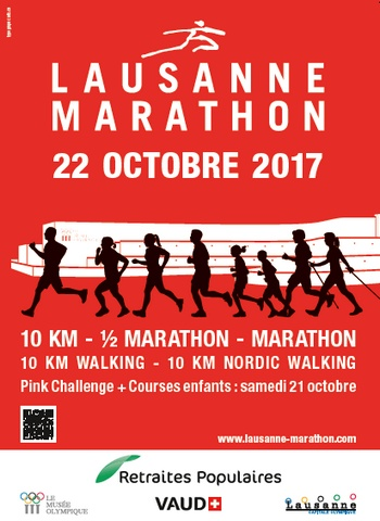 10 dossards pour les 10 km, semi et marathon de Lausanne 2017