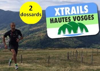Photo of 2 dossards pour le Xtrails Hautes Vosges 2017 (Haut Rhin)