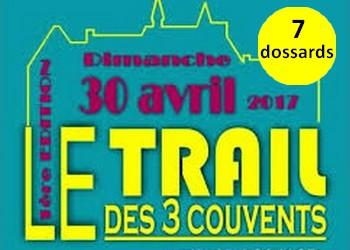 Photo of 7 dossards pour le Trail des 3 couvents 2017 (Isère)