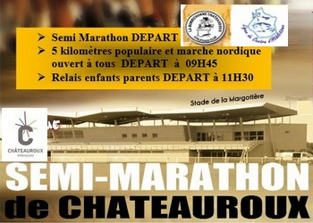 Photo of Semi-marathon de Châteauroux 2020 (Indre)