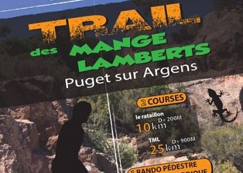 Photo of Trail des Mange-Lamberts 2020, Puget-sur-Argens (Var)