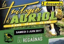 2 dossards pour la Trilogie d'Auriol 2017