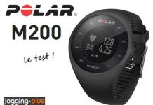 Test de la Montre GPS Polar M200