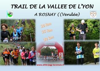 Photo of Trail de la Vallée de l'Yon 2020, Rosnay (Vendée)