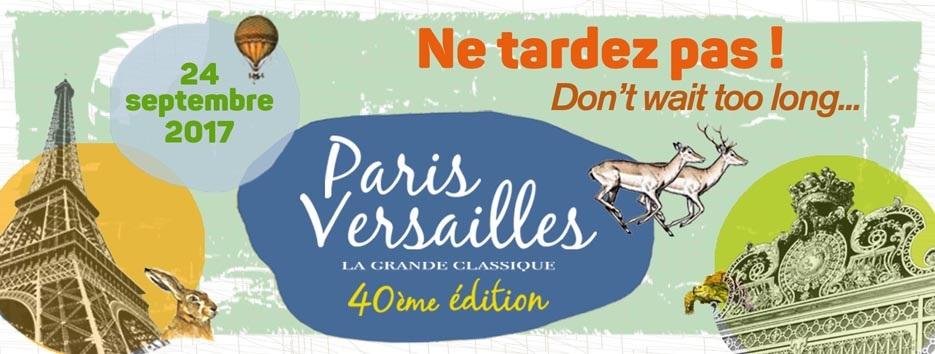 1 dossard pour Paris Versailles 2017