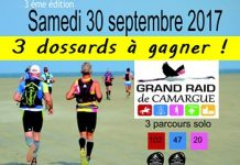 3 dossards Grand Raid de Camargue 2017