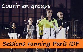 Courir en groupe : sessions d'entraînement running à Paris et Ile de France