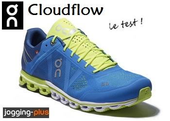 Photo de Chaussure de running On Cloudflow : légèreté et ultra réactivité
