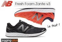 Test des New Balance Zante, chaussures de running, par Jogging-Plus
