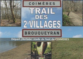 Photo of Trail des 2 villages, Coimères – Brouqueyran (Gironde)