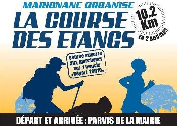 Photo of Course des étangs 2020, Marignane (Bouches du Rhône)
