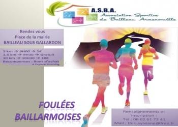 Photo of Foulées Baillarmoises 2019, Bailleau-Armenonville (Eure et Loir)
