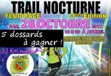 5 dossards Trail Nocturne Fluo Race 2017 (Pas-de-Calais)