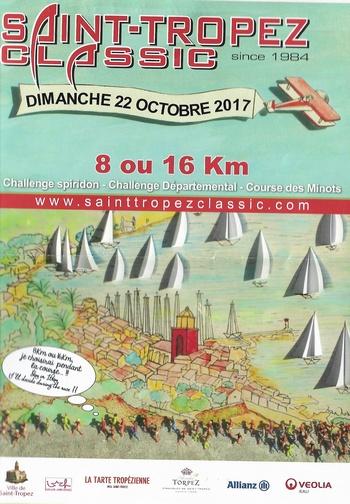 5 dossards Saint-Tropez Classic 2017 (Var)